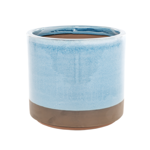 Copper Bottom - Large Blue Cylinder