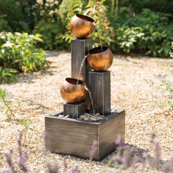 Copper Jugs - Water Feature