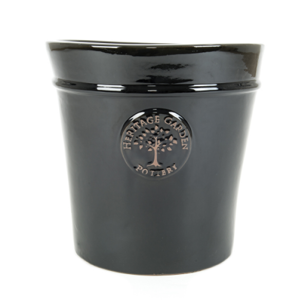 Edwardian Collection - Extra Large Black Pot Planter