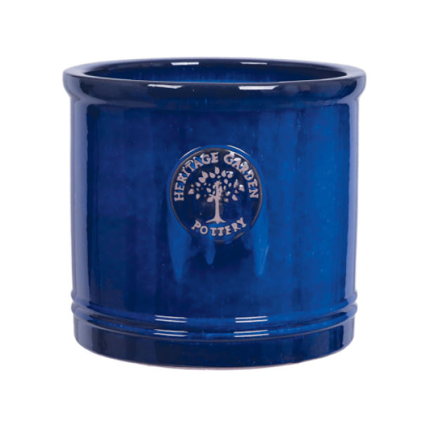 Edwardian Collection - Medium Blue Cylinder Planter