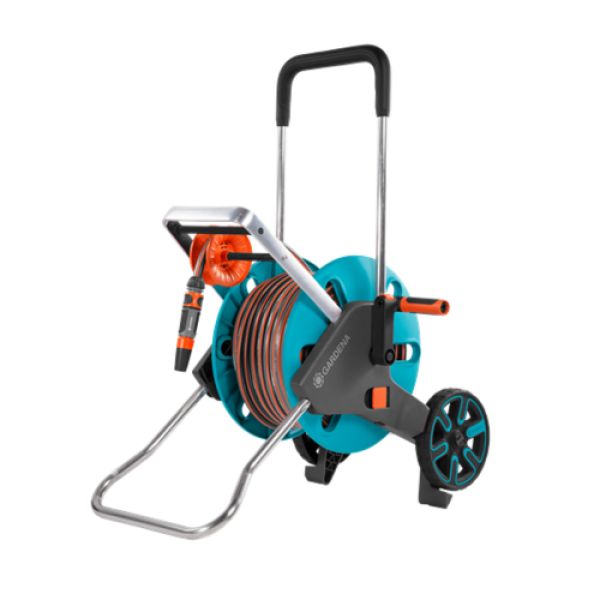 Gardena - Hose Trolley AquaRoll M Easy Set