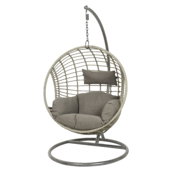 London Egg - Luxury Wicker Hanging Chair