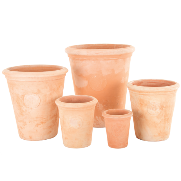 Tudor Terracotta - Nest of 5 Garden Planters