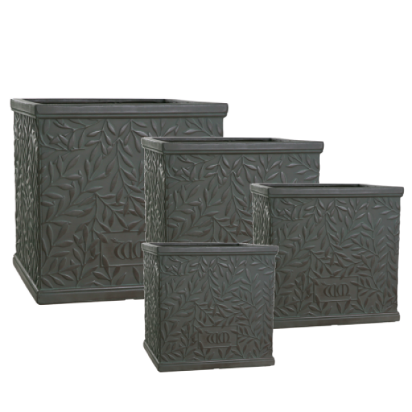 William Morris Collection - Nest of 4 Faux Lead Squares