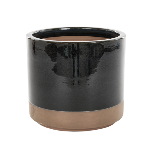 Copper Bottom - Small Black Cylinder